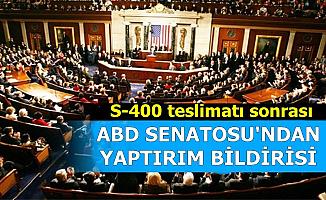 ABD Senatosu'ndan Skandal S-400 Yaptırımı Açıklaması