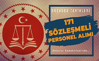 Adalet Bakanlığı 171 Sözleşmeli Personel Alımı Başvuruları 22 Temmuz'da Başlayacak