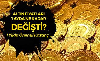 Altın Bu Ay Ne Kadar Değer Kazandı? Gram Altın, Çeyrek Altın Fiyatları, Tam Altın ve Bilezik Fiyatları