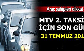 Araç Sahipleri Dikkat: GİB MTV 2. Taksit Ödemesi İçin Son Dakika Uyarısı