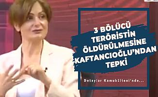 CHP'li Canan Kaftancıoğlu'ndan Teröristlerin Öldürülmesine Tepki : Vahşice