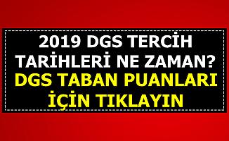 DGS Tercih Tarihleri-Üniversite Taban Puanları ve Kontenjanlar 2019