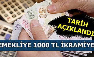 Emekli 1000 TL İkramiye Tarihi Belli Oldu (Kurban Bayramı 1. Günü Ne Zaman?)