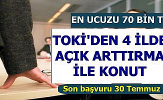 TOKİ'den 4 Şehirde En Az 70 Bin TL'ye Konut-Son Başvuru 30 Temmuz 2019