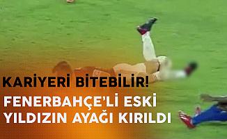 Eski Fenerbahçe'li Yıldızın Ayağı Kırıldı ! Diego Ribas'ın Kariyeri Bitebilir
