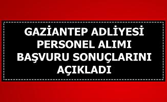 Gaziantep Adliyesi Sonuçları Açıkladı-İşte Taban Puanlar