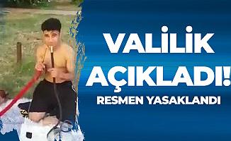 Gaziantep'te Şikayetler Sonuç Verdi: Park ve Bahçelerde Nargile Yasak