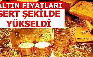 Gram-Çeyrek Altın Fiyatları Yükselişe Geçti-Güncel Altın Fiyatları ve Yorumları