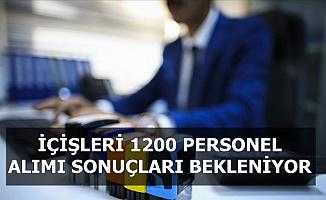 İçişleri 1200 Personel Alımı Sözlü Mülakat Sonuçları Açıklanmalı