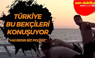 İzmir'deki 3 Bekçi Türkiye'nin Gündeminde : Biz Polisiz