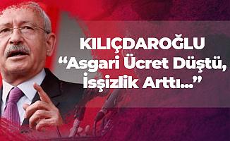 Kemal Kılıçdaroğlu: Asgari Ücret Düştü, İşsizlik , Faiz, İntiharlar Arttı