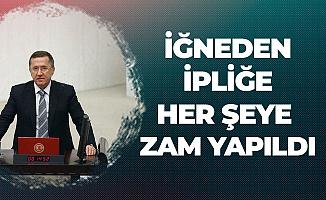 Lütfü Türkkan: İğneden İpliğe Her Şeye Zam Yapıldı, Adalet, Demokrasi ve Liyakatle Birlikte Ekonomi de Çökmüştür
