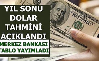 Merkez Bankası Dolar Tahminini Açıkladı: 2019 Sonunda Dolar/TL ..