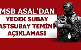 MSB ASAL Yedek Subay Astsubay Alımı ve Bedelli Askerlik
