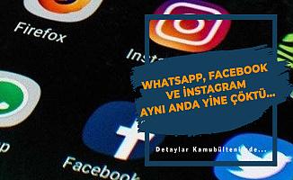 Whatsapp, Facebook ve İnstagram Çöktü Mü?
