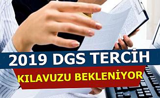 2019 DGS Tercih Kılavuzu Bekleniyor