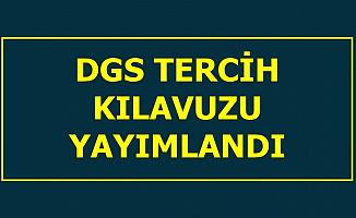 2019 DGS Tercih Kılavuzu Yayımlandı