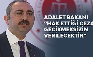 Adalet Bakanı Gül 'Emine Bulut' Cinayetiyle İlgili net Konuştu!