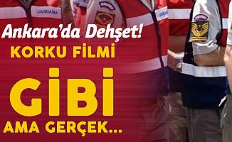 Ankara'da Korku Filmi Gibi Olay! Döverek Öldürmüş, Sonra da Yakmışlar!