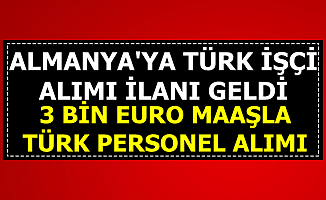 Başvuru Formu Yayımlandı: OBM Türkiye Almanya'ya Türk İşçi Alımı Yapıyor-2-3 Bin Euro Maaşla