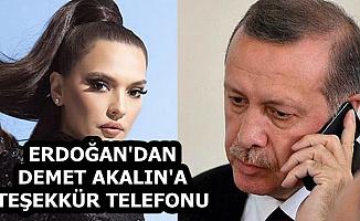 Cumhurbaşkanı, İstanbul-İzmir Otoyolunu Öven Demet Akalın'ı Aradı