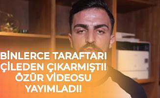 Deli Mi Ne Rumuzlu Youtuber 'Süper Kupa Finaliyle İlgili' Özür Videosu Yayımladı