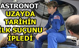 Flaş İddia: Bir Astronot Uzayda Tarihin İlk Suçunu İşledi