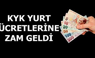 Flaş: KYK Yurt Ücretine Zam Geldi-İşte Yeni Tarife
