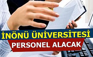 İnönü Üniversitesi 41 Kamu Personeli Alacak