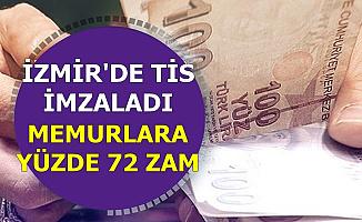 İzmir'de TİS İmzalandı: Belediye Memurlarına Yüzde 72 Zam-2500 TL ikramiye