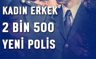 Kadın-Erkek 2500 Polis Alımı Başvuru Ekranı Açıldı (pa.edu.tr 2019 PMYO Başvuru)