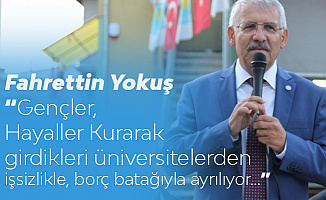 Konya Milletvekili Yokuş'tan 'EYT , Taşeron, 3600 Ek Gösterge , Memur ve İşçi Maaşları Çıkışı'