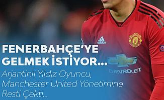 Manchester United'dan Ayrılıp Fenerbahçe'ye Gelmek İstiyor