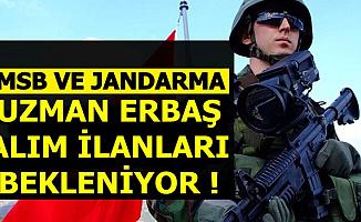 MSB ve Jandarma 2019 Uzman Erbaş Alımı İçin Yeni İlanlar Geliyor