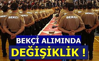 Polis Akademisi, EGM Bekçi Alımında Değişiklik Yaptı