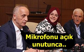 Taşerona Kötü Haber Gelmişti: TİS İmza Töreninde Ergün Atalay'ın Mikrofonu Açık Kalınca..