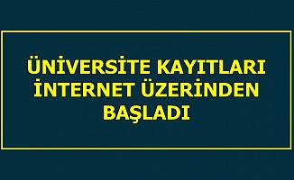 Üniversite Kayıtları İnternet Üzerinden Başladı-İşte E Devlet E-Kayıt Ekranı