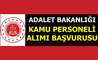 Adalet Bakanlığı'na Kamu Personeli Alımı Başvurusu Bitiyor