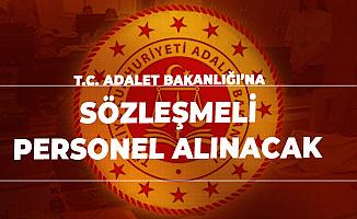 Adalet Bakanlığı Sözleşmeli Personel Alımı Başvuruları 7 Ekim'de Sonlanacak