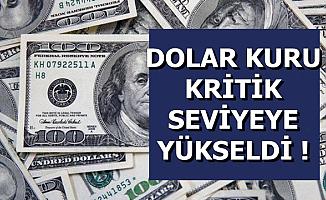 Dolar Kuru Kritik Seviyeye Geldi