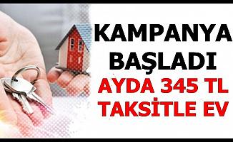 TOKİ'den 27 Şehirde Ayda 345 TL Taksitle Ev: Konut Kampanyası Başladı