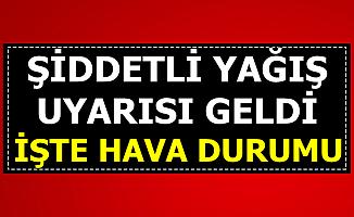 Hava Durumu Açıklandı: Pazar Günü Şiddetli Yağmur (İstanbul, Kocaeli, Samsun, Trabzon, Malatya...)