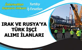 İki Ülkeye Türk İşçi Alımı-Başvurular İnternetten