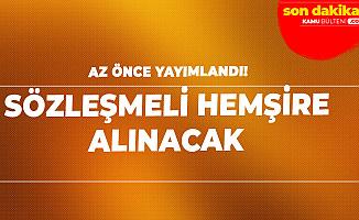 İstanbul Üniversitesi'ne Sözleşmeli Hemşire Alımı Yapılacak