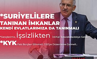 İYİ Partili Fahrettin Yokuş'tan GSS ve KYK Çıkışı: Suriyelilere Tanınan İmkanlar, Kendi İnsanımıza da Tanınmalı