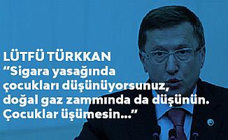İYİ Partili Lütfü Türkkan: Sigara Yasağında Çocukları Düşünüyorsunuz, Doğalgaz Zammında da Düşünün