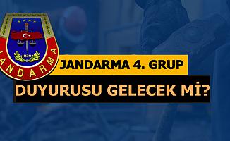 Jandarma 2019-1 Uzman Erbaş Alımında 4. Grup Olacak mı? Ne Zaman Olacak?