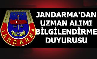 Jandarma'dan Komando Asayiş Uzman Erbaş Alımı Bilgilendirme Duyurusu 2019