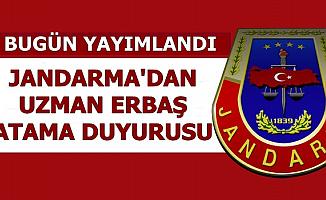 Jandarma Komando Uzman Erbaş Atama Duyurusu Yayımladı