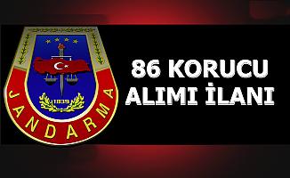 Jandarma Komutanlığına 86 Korucu Alımı